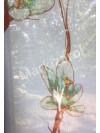 рулонная штора флора цветы