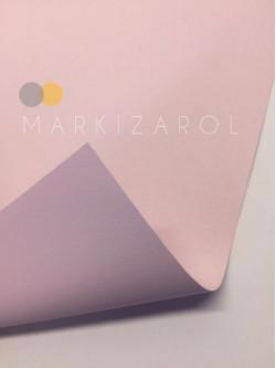 рулонная штора блэкаут розовая