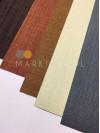 Рулонная штора  блэкаут темно-коричневая