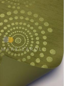 Штора рулонная блэкаут оливковая