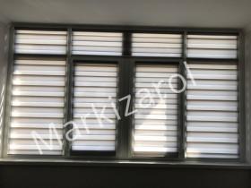 Рулонные шторы день ночь DN 211 (положение ночь)