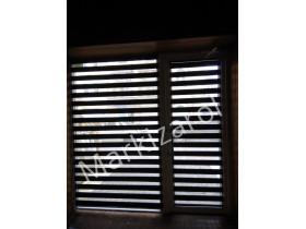 рулонные шторы День Ночь DN 208 (цвет черный)