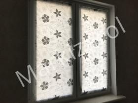 рулонные шторы квіти