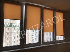Рулонная штора открытого типа ткань Camila (Германия)