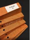 Штора плиссе оранжевая  Kamari 10