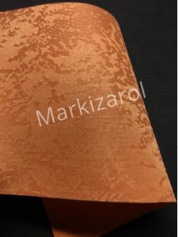 Рулонная штора Агат оранжевый