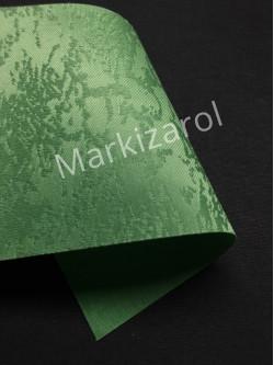 Рулонная штора Агат зеленый
