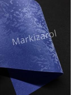 Рулонная штора Агат синий