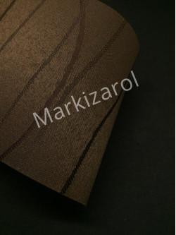 Рулонная штора фала темно-коричневая