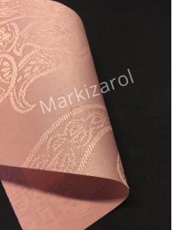 Рулонная штора Арабеска нежно-розовая