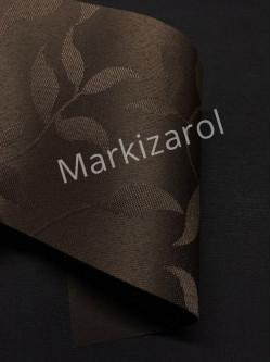 Рулонная штора натура коричневая